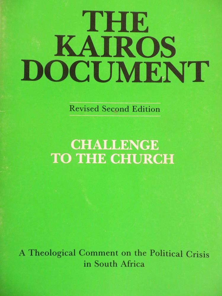 kairos liberation theology palestine portal
