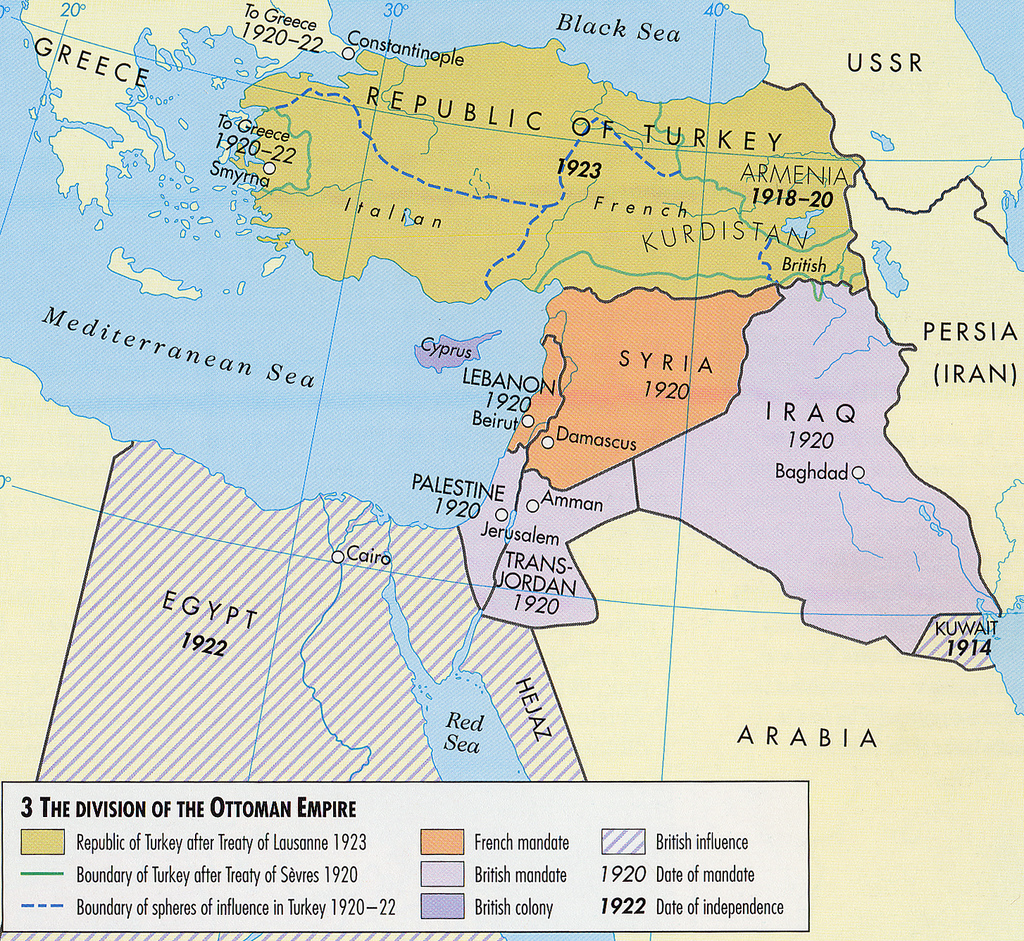 Map Of France During Ww1.Maps Ottoman Empire Through 1949 Palestine Portal