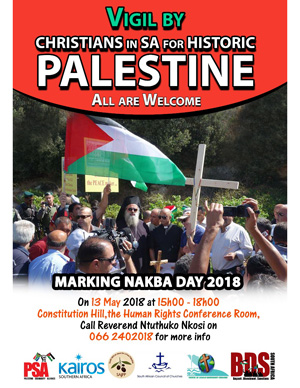 Nakba Day Vigil Flyer